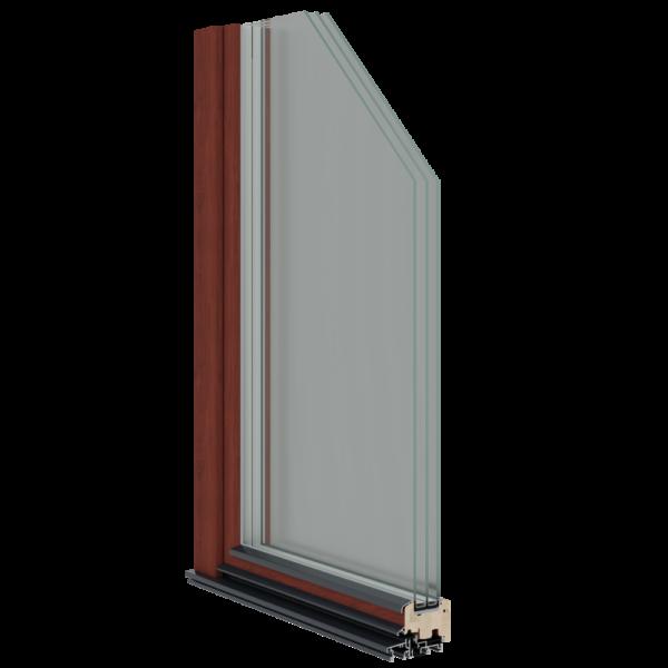Sisseavanev puit rõduuks S90